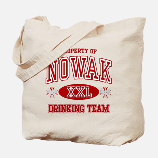 Nowak Polish Drinking Team Tote Bag