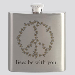 Bees be with you (Peace) Flask
