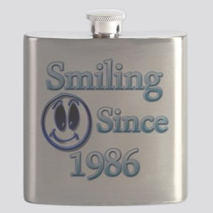 Smiling Since 1986 Flask