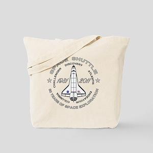 Space Shuttle_cafepress_2_dark Tote Bag