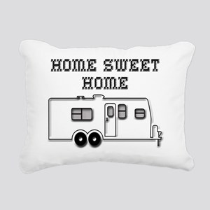HomeSweetHomeTravelTrail Rectangular Canvas Pillow