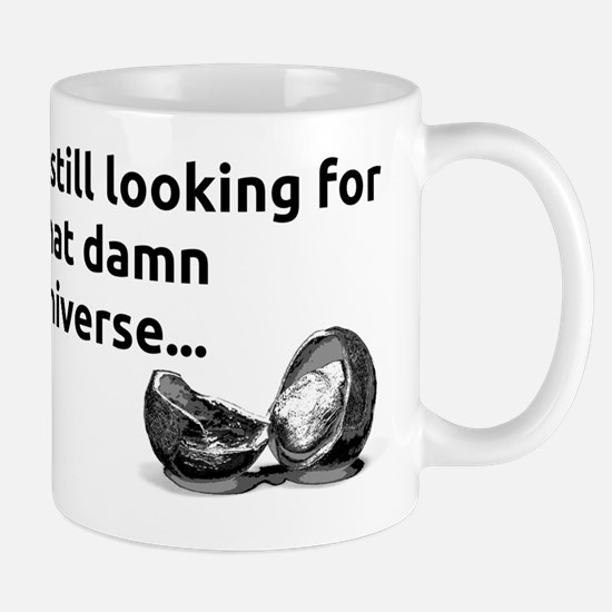 hawking universe nutshell - black Mug