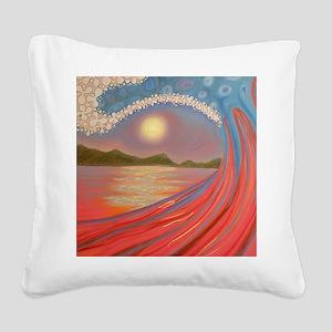 rojogrande Square Canvas Pillow
