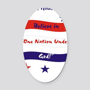 SRGFlag Oval Car Magnet