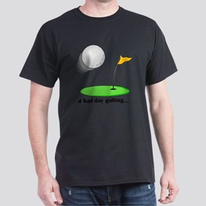 bad day golfing hi-res Dark T-Shirt