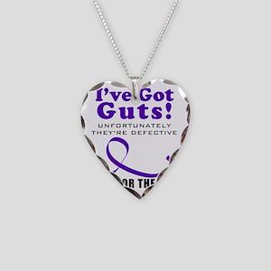 IVEgotGuts Necklace Heart Charm