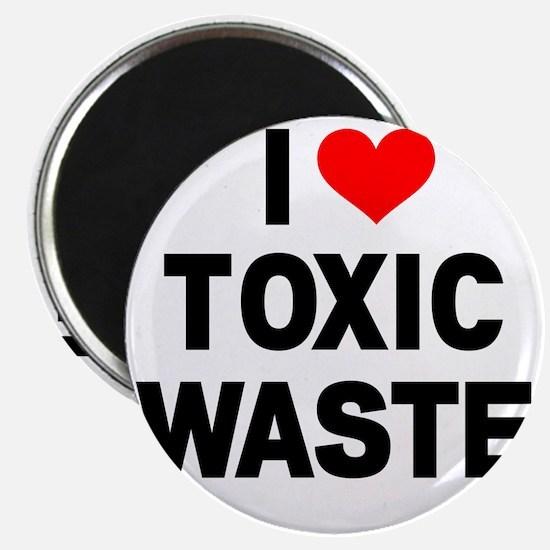 I-Heart-Toxic-Waste Magnet