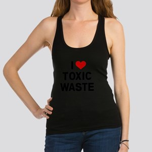 I-Heart-Toxic-Waste Racerback Tank Top