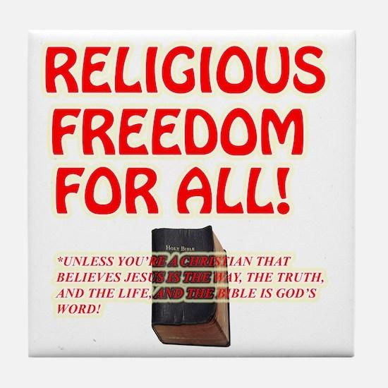 RELIGIOUSTOL Tile Coaster