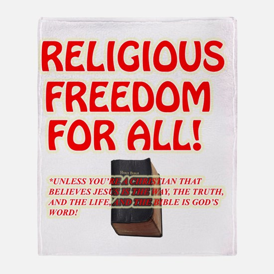 RELIGIOUSTOL Throw Blanket
