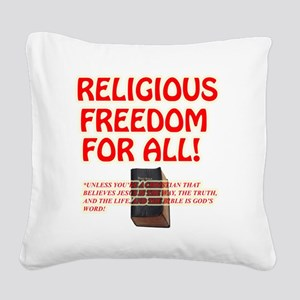RELIGIOUSTOL Square Canvas Pillow