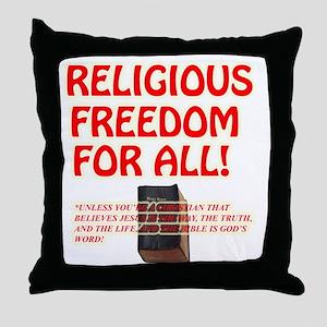 RELIGIOUSTOL Throw Pillow