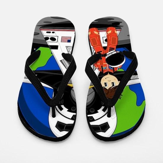 Spaceman Pad4 Flip Flops