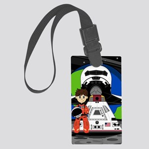 Spaceman Pad4 Large Luggage Tag