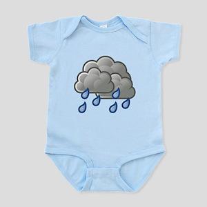 Rain Storm Clouds Body Suit