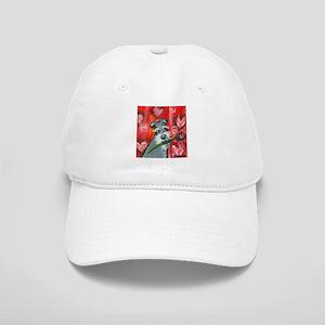 Schnauzer Valentine Rose hear Cap