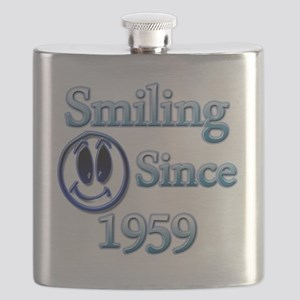 Smiling Since 1959 Flask