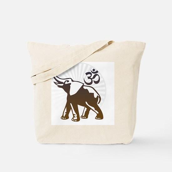 ganesha1-wht Tote Bag