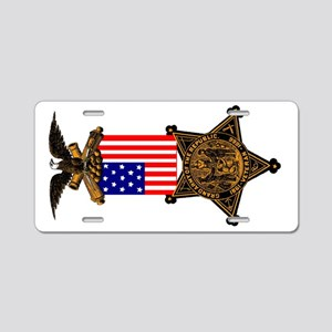 G.A.R. Color Badge Aluminum License Plate