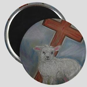 The Lamb of God Magnet
