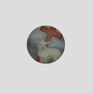 The Lamb of God Mini Button