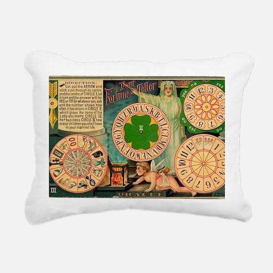 fortune teller  Rectangular Canvas Pillow