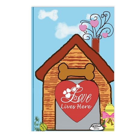 Love Lives Here Postcards (Package of 8)