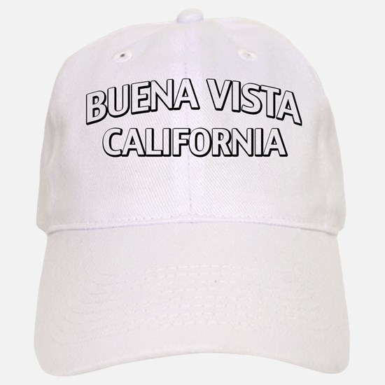 Buena Vista CA Baseball Baseball Cap