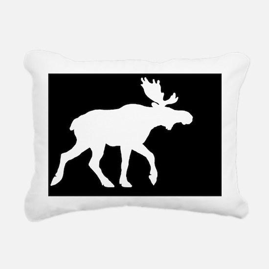 mooselp Rectangular Canvas Pillow