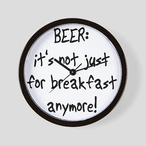 beerbreakfast Wall Clock