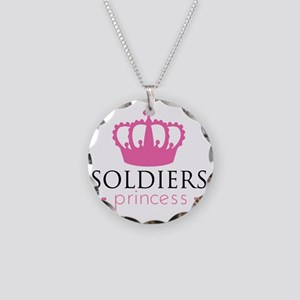 Soldiers Princess Necklace Circle Charm