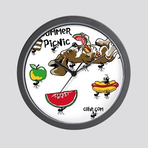 Cafepress Picnic design copy Wall Clock