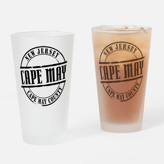 Cape May Title W Drinking Glass