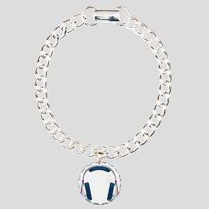 HEADPHONES Charm Bracelet, One Charm