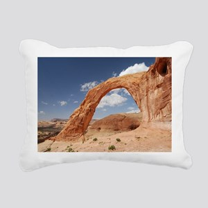 Corona Arch Rectangular Canvas Pillow
