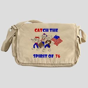 Catch The Spirit Again III Messenger Bag