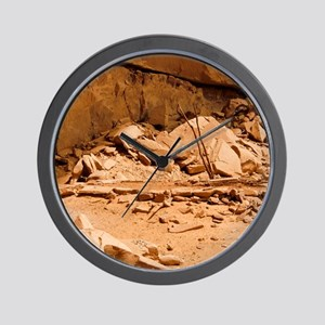 Kiva in Lower Grand Gulch Wall Clock