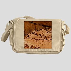 Kiva in Lower Grand Gulch Messenger Bag