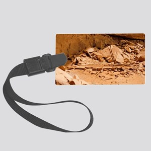 Kiva in Lower Grand Gulch Large Luggage Tag