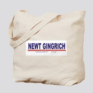 Newt Gingrich (simple) Tote Bag