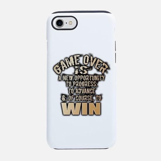 GAME OVER iPhone 7 Tough Case
