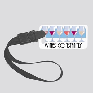 Wines-Constantly Small Luggage Tag