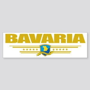 Bavaria (Flag 10) pocket Sticker (Bumper)
