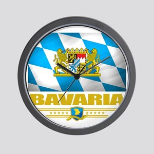 Bavaria (Flag 10) Wall Clock