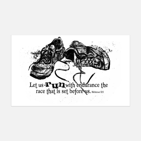 runningshoes Wall Decal