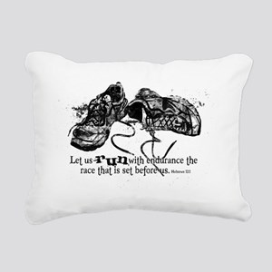 runningshoes Rectangular Canvas Pillow