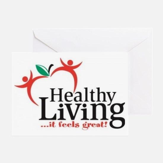 Celebration-of-a-Healthy-Living-thru Greeting Card