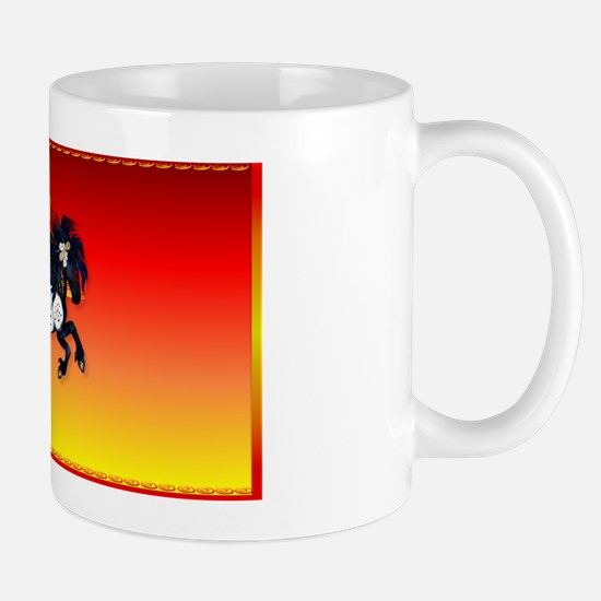 PatchAppaloosa War Pony background Mug