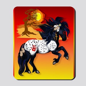 460_ipad_caseAppaloosa War Pony backgrou Mousepad