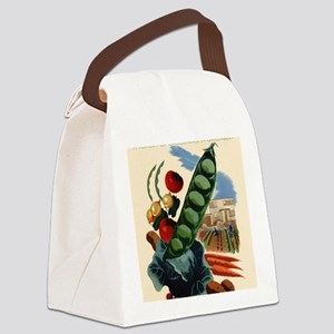 Green from the Start Canvas Lunch Bag